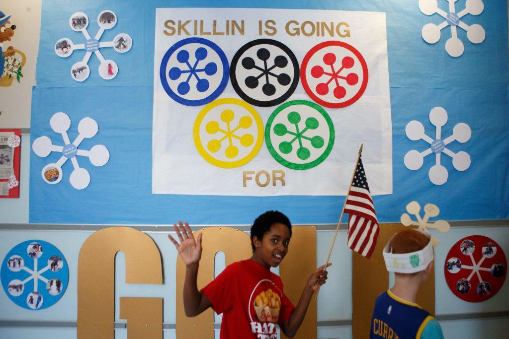 WinterKids Winter Games 2017 Skillin Opening Ceremony SDP0011