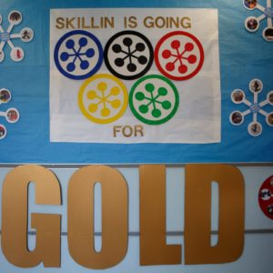 WinterKids Winter Games 2017 Skillin Silver Medal Ceremony SDP0001