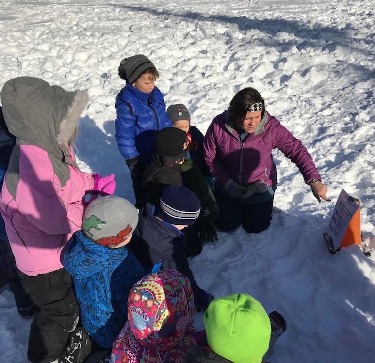 WinterKids Math Hike Elementary