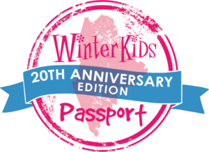 WinterKids Passport 20th Anniversary Logo