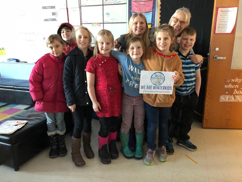 Deer Isle Stonington Elementary Winter Games 2018