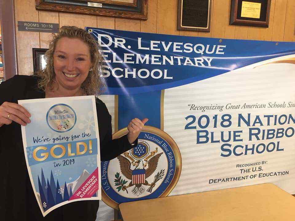 Dr Levesque Elementary School Winter Games 2018
