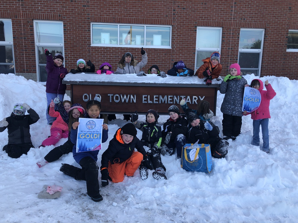 Old Town Elementary Winter Games 2018