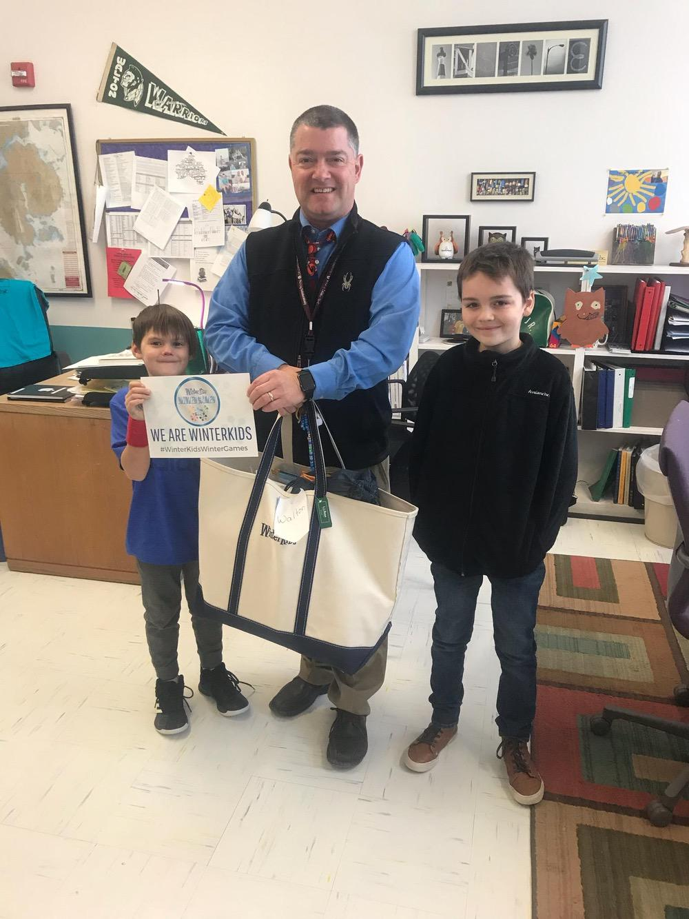 Walton Elementary School Winter Games 2018