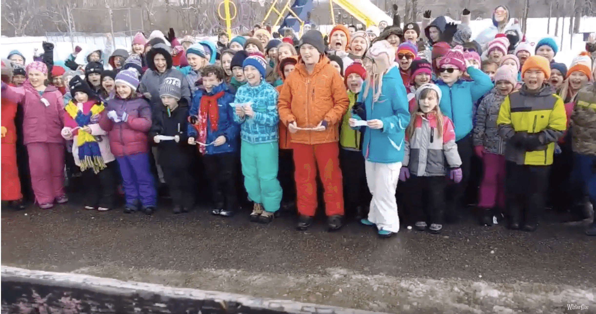 Ames Elementary – WinterKids Winter Games 2019