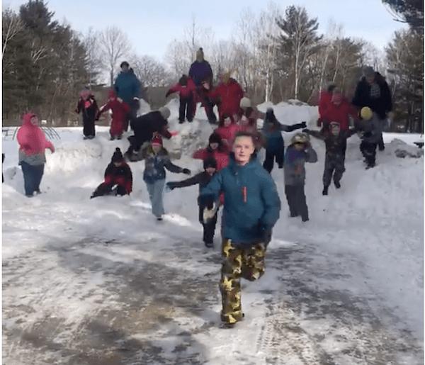 Andover Elementary – WinterKids Winter Games 2019