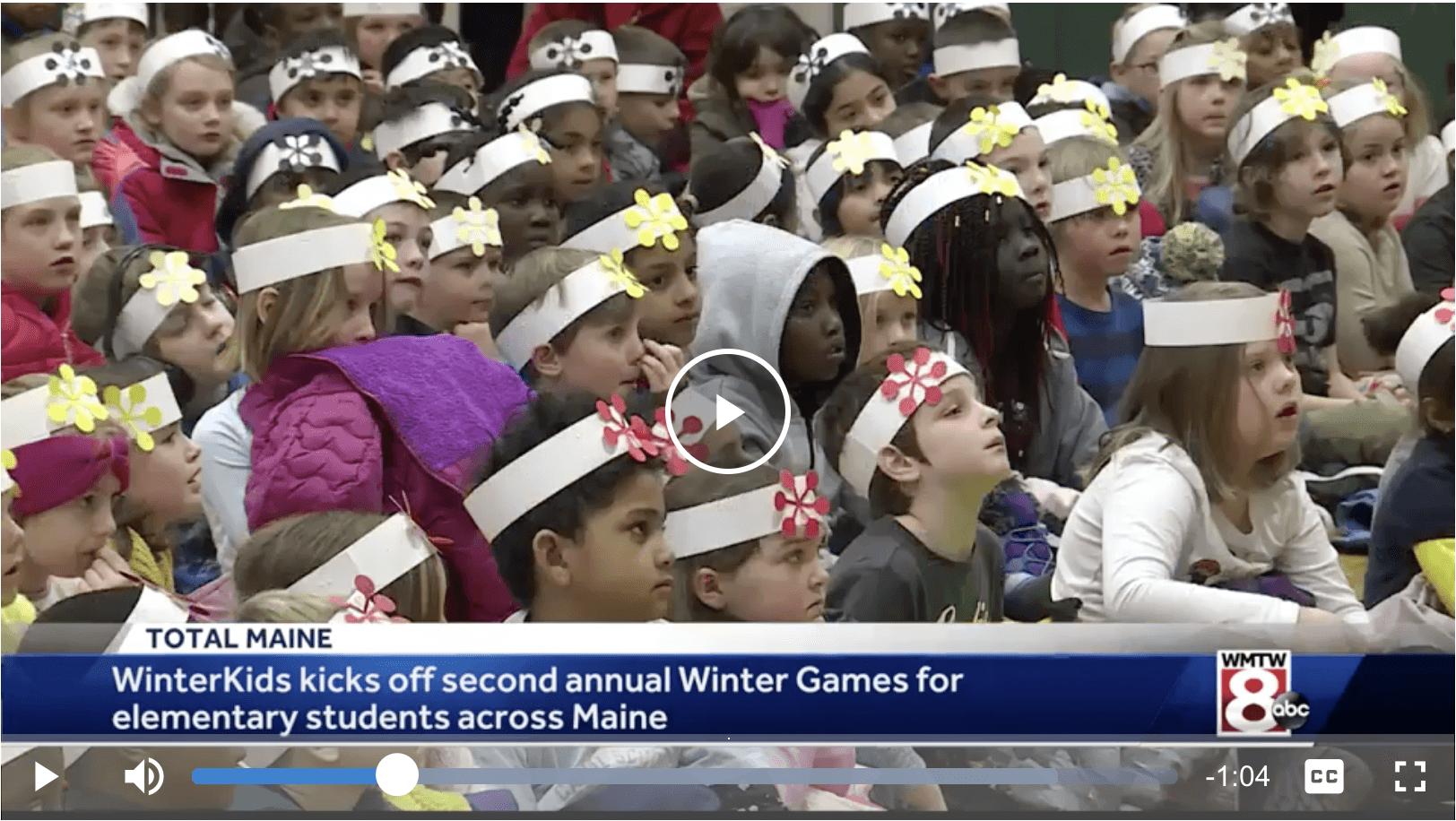 WinterKids Winter Games kicks off for elementary schools across Maine