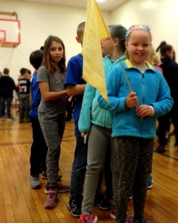 Winter Games 2019 Ames Elementary Photo via Fran Gonzalez Village Soup