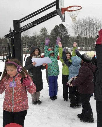 Winter Games 2019 Ash Point Community School Photo via Village Soup
