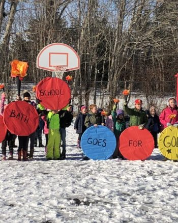 Winter Games 2019 West Bath School Photo via Times Record