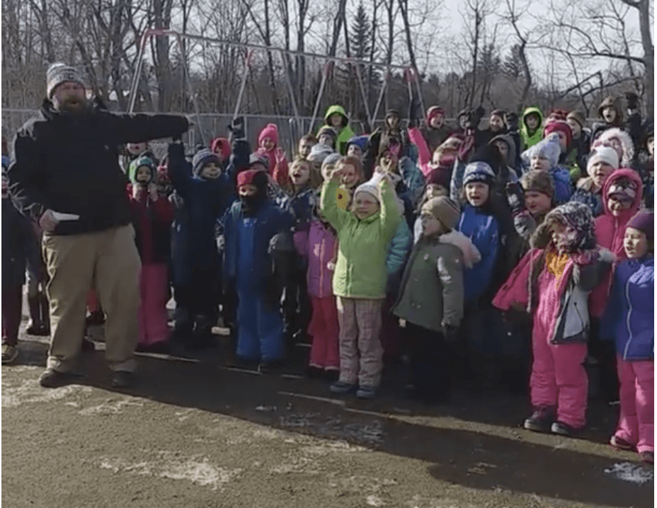 Carrabec Community School – WinterKids Winter Games 2019