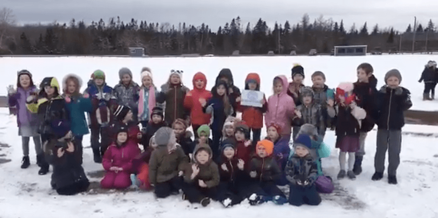Jonesport Elementary – WinterKids Winter Games 2019