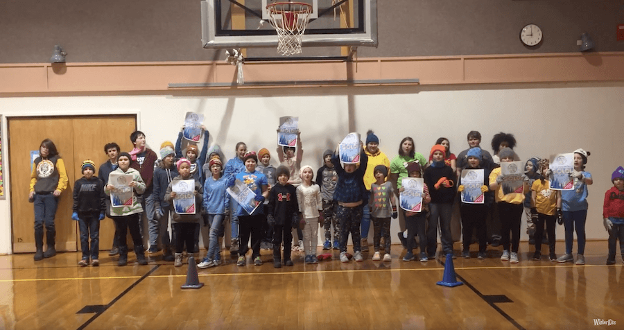 Swan's Island School – WinterKids Winter Games 2019
