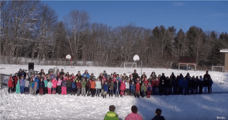 West Bath Elementary – WinterKids Winter Games 2019