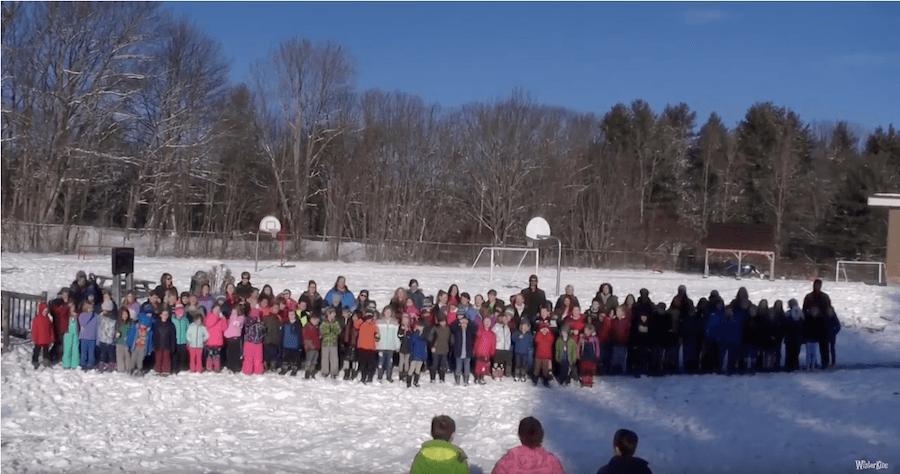 West Bath Elementary – WinterKids Winter Games 2019