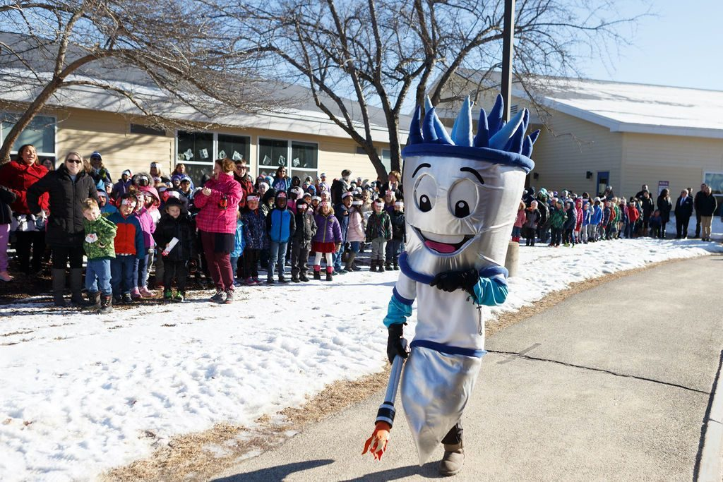 WinterKids Winter Games 2019 Opening Ceremony at Canal School 031