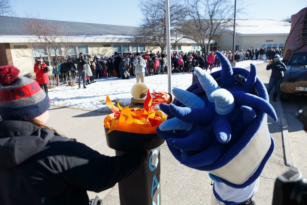 WinterKids Winter Games 2019 Opening Ceremony at Canal School 032