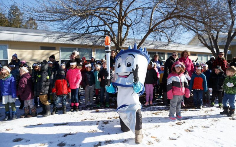 Winter Games 2019 Opening Ceremony at Canal School