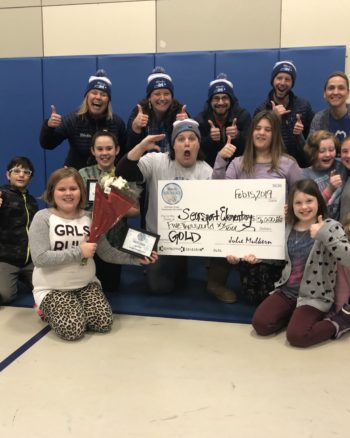 Searsport Wins Gold WinterKids Winter Games 2019