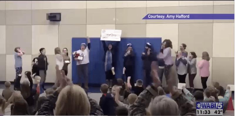 Searsport Elementary School takes gold in WinterKids Winter Games
