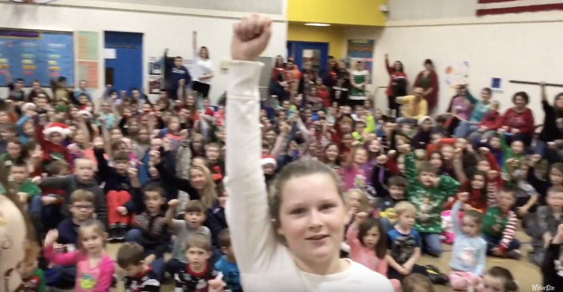 Waterboro Elementary School – WinterKids Winter Games 2019
