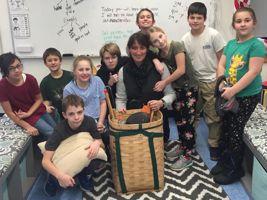Swan's Island Students Make Most of Winter