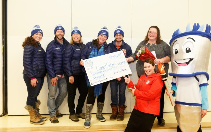 WinterGames 2019 Award Ceremony at Canal School
