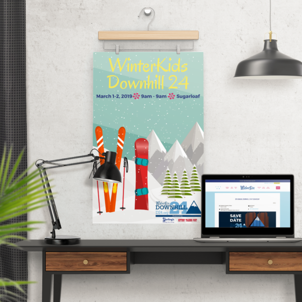 D24 Poster 2019 desktop mockup