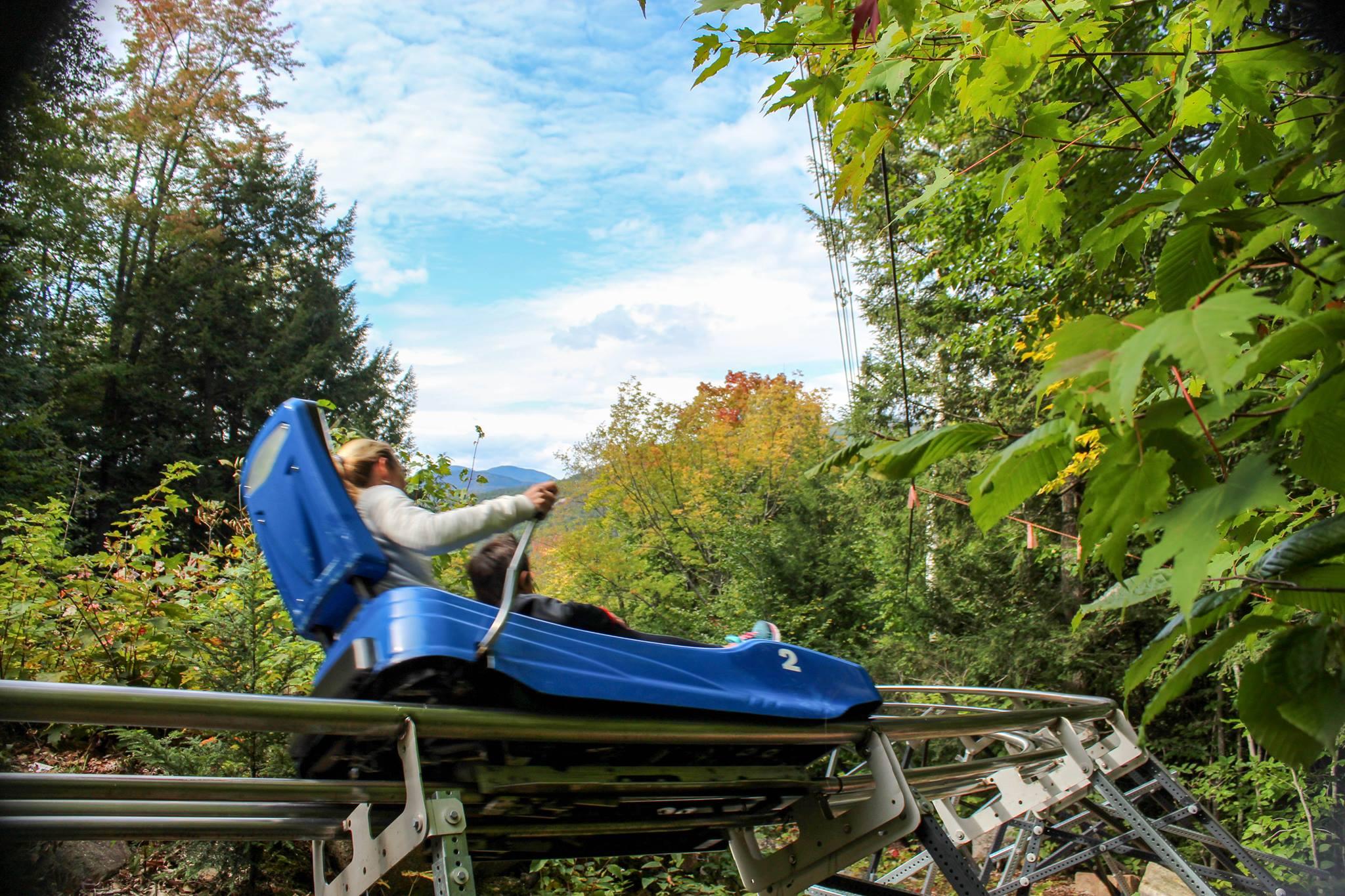 Attitash Mountain Alpine Slide