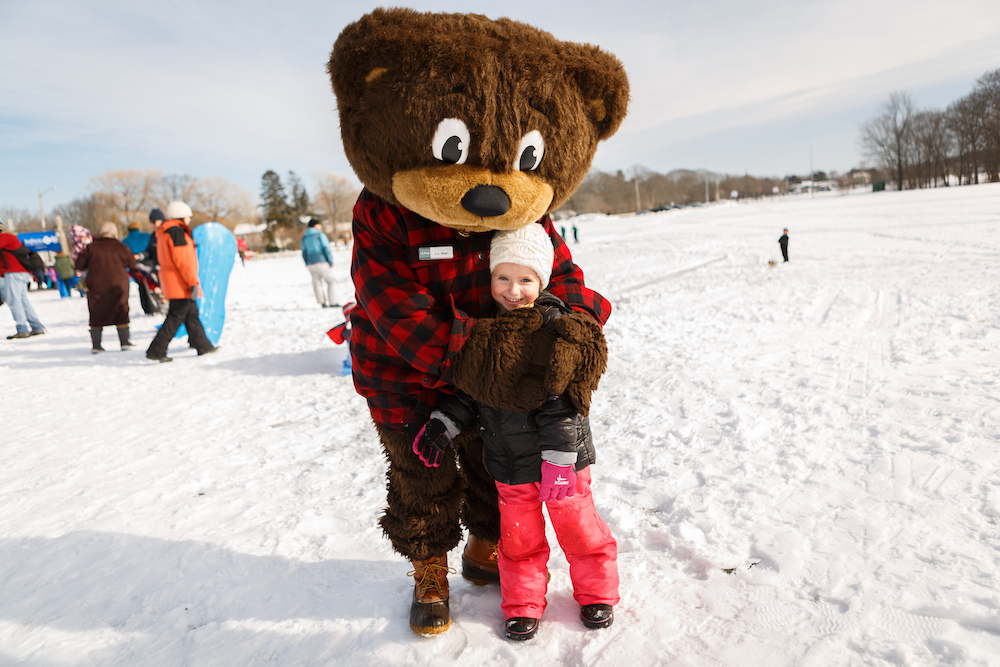 LL Bear at Welcome to Winter WinterKids Sponsor Feature