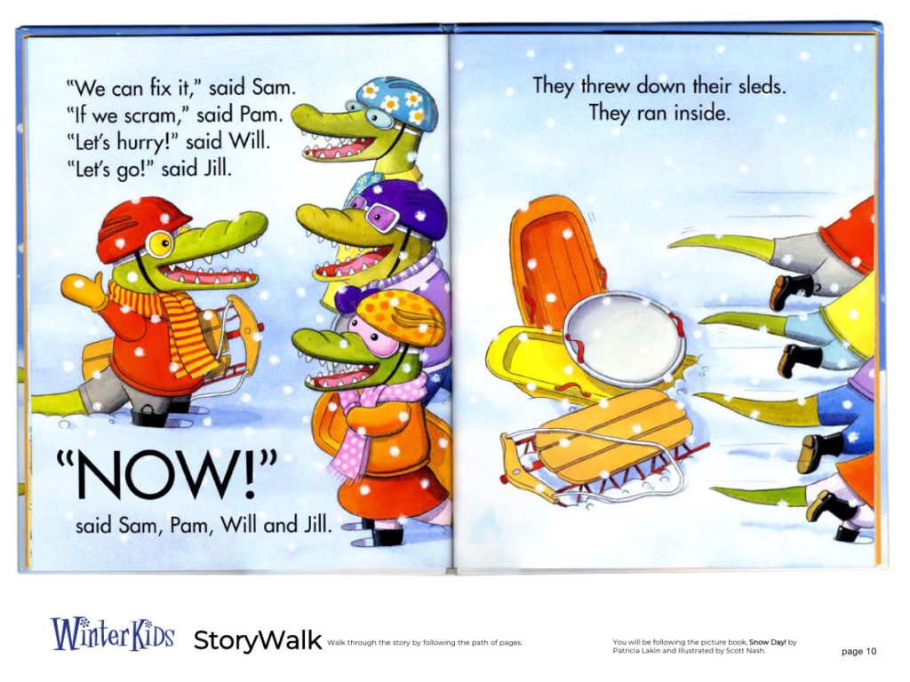 WinterKids Story Walk Page 11