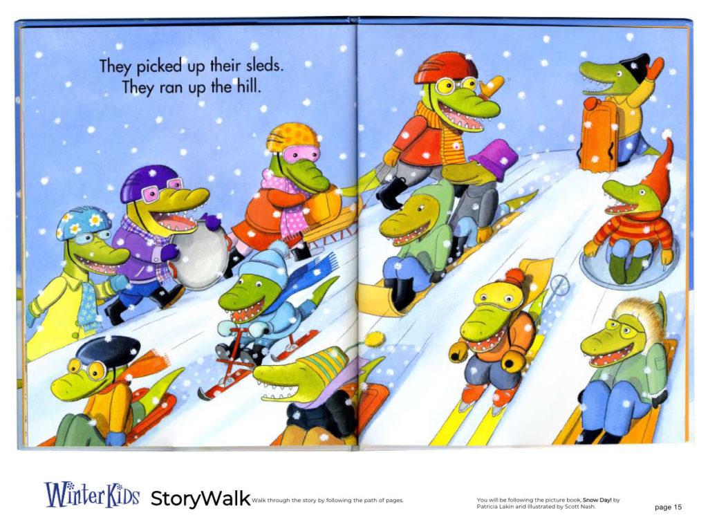 WinterKids Story Walk Page 16