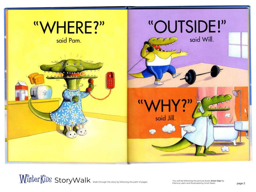 WinterKids Story Walk Page 3