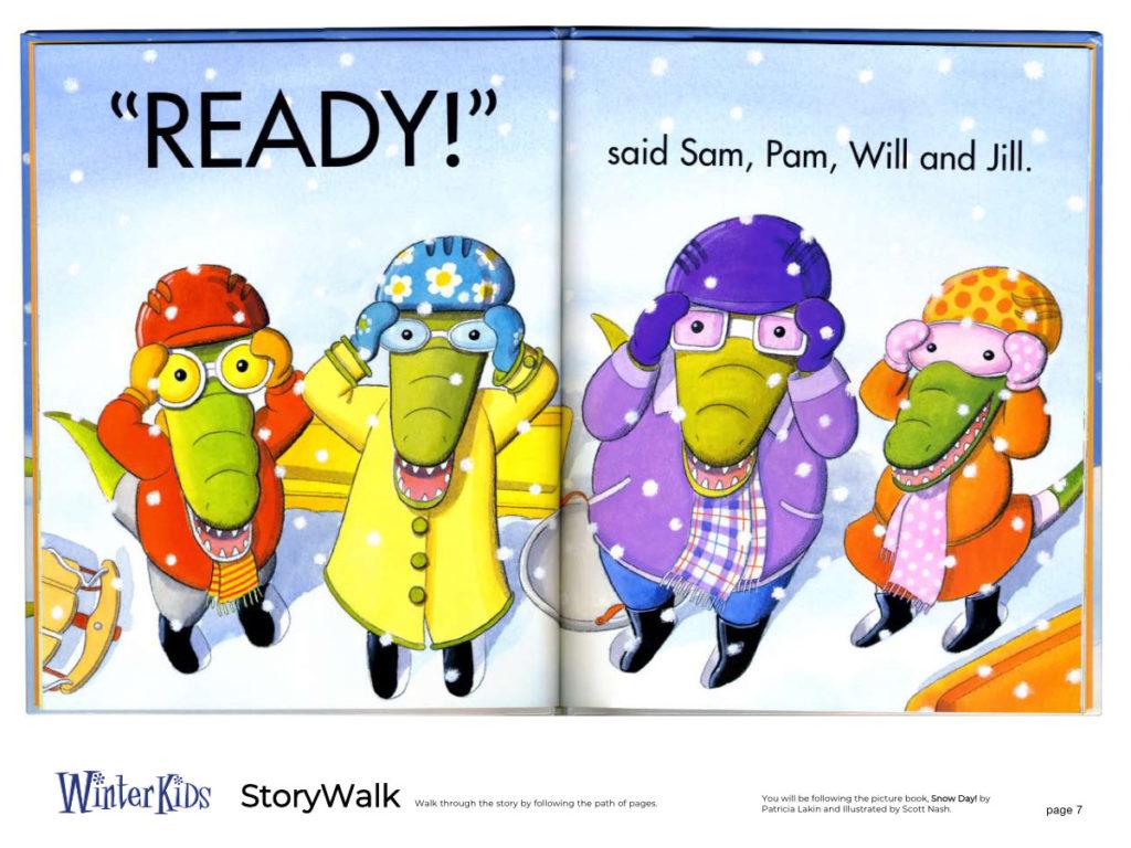 WinterKids Story Walk Page 8