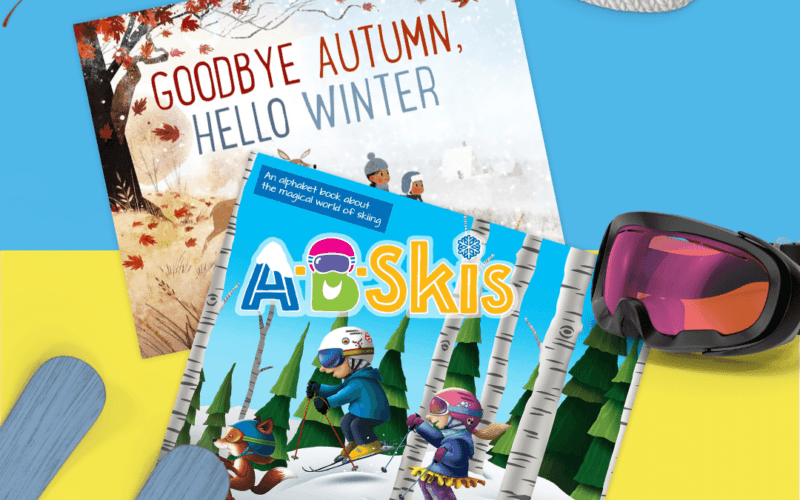 Book of the Month: Inspire the Love of Skiing and Say Hello to Winter!