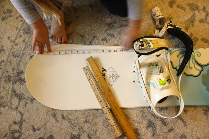 Measuring Snow Sport Gear Step 5 WinterKids