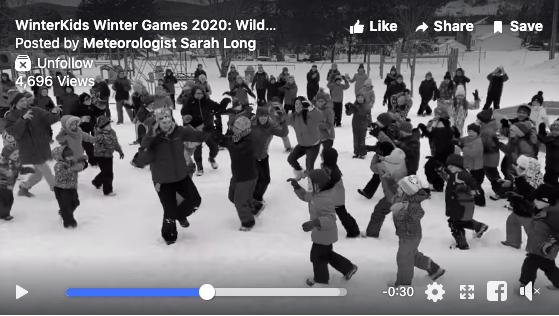 Dr Levesque Elementary Week 1 Wild Card Winners Winter Games 2020