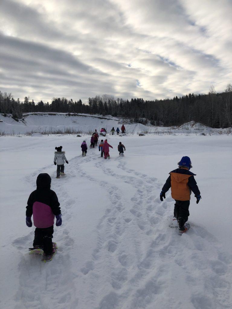 Dr Levesque Elementary School Winter Games 2020 Week 1