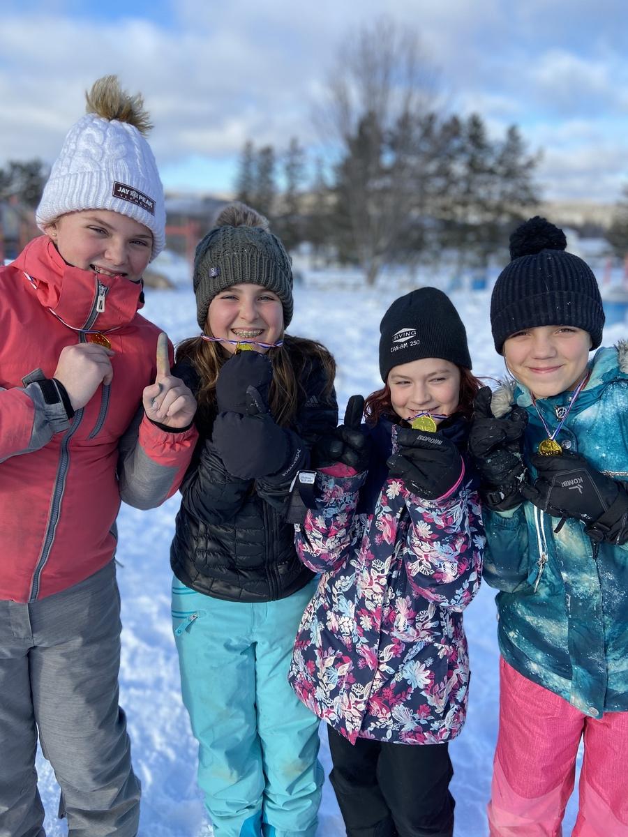 Dr Levesque Elementary School Winter Games 2020 Week 4