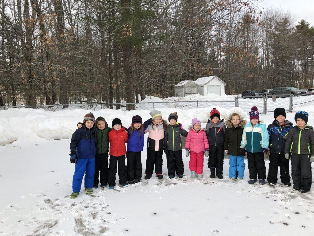 Edna Libby Elementary School Winter Games 2020 Week 1