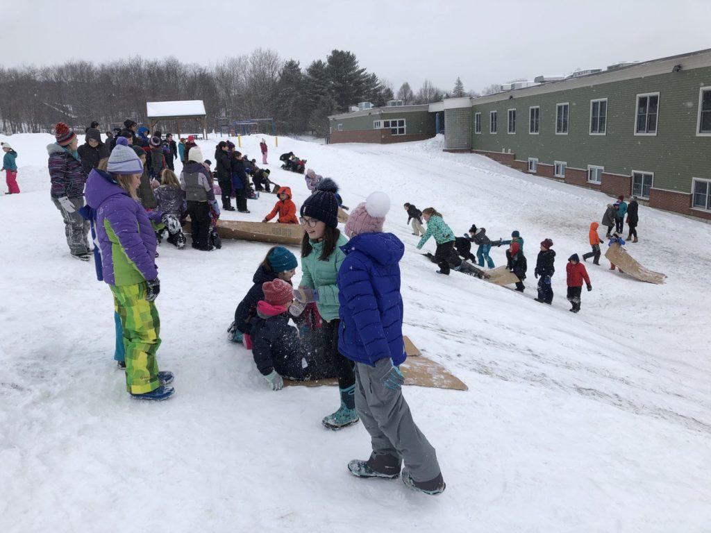 Fairview Elementary Winter Games 2020 Week 1