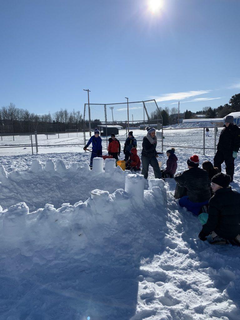 Fort Kent Elementary School Winter Games 2020 Week 4