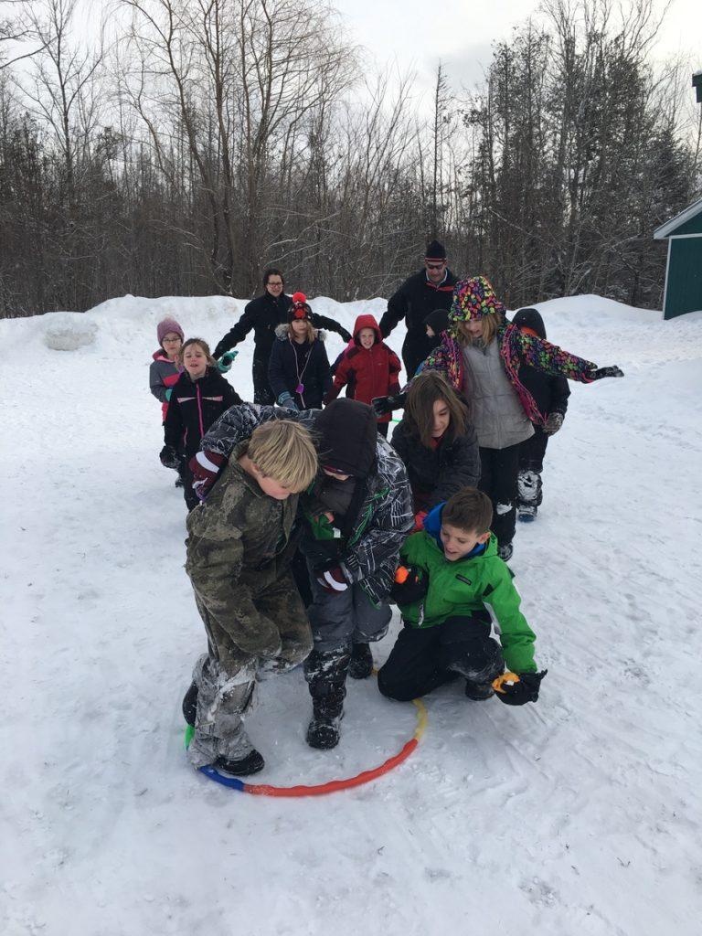 Katahdin Elementary School Winter Games 2020 Week 1