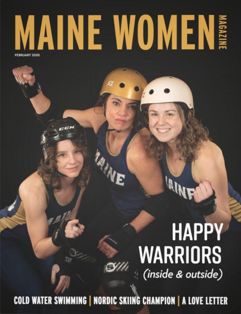 Maine Women Mag February 2020 Cover