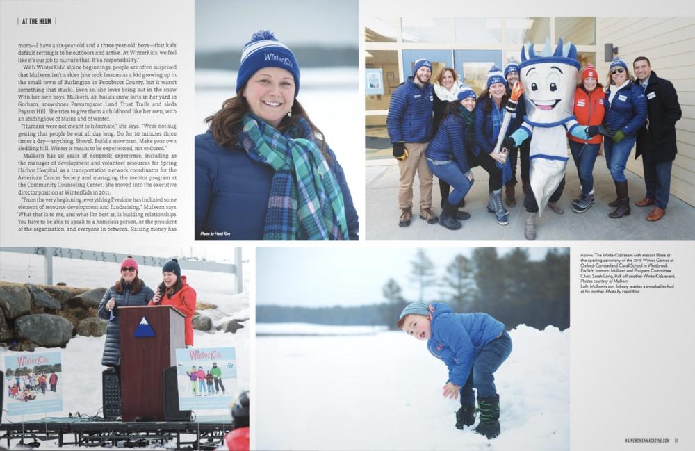Maine Women Mag February 2020 Snow Queen 02