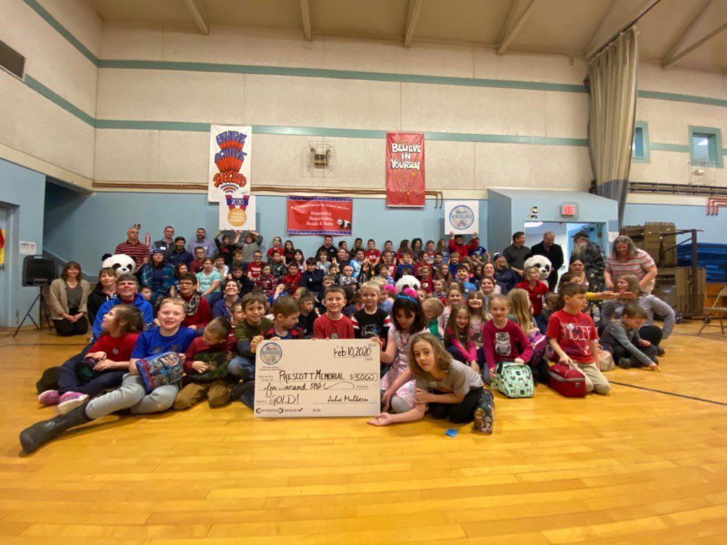 Prescott school takes the gold in WinterKids Winter Games