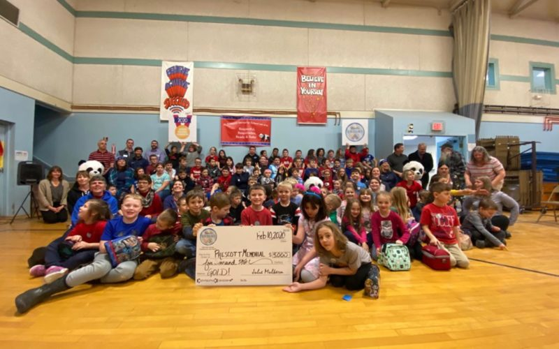Knox County School Takes the GOLD in the 3rd Annual WinterKids Winter Games!