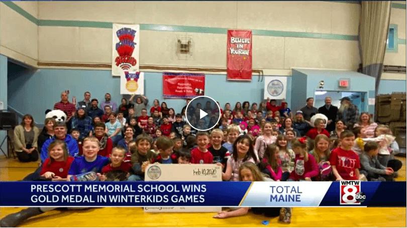 Winning Maine school of WinterKids 3rd annual winter games gets big surprise