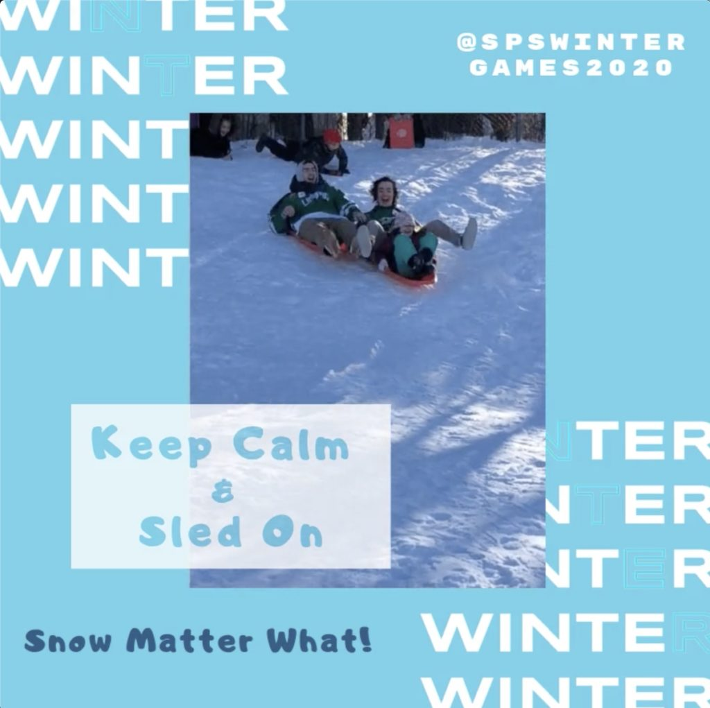 Sabattus Primary School Winter Games 2020 Week 2 MEME