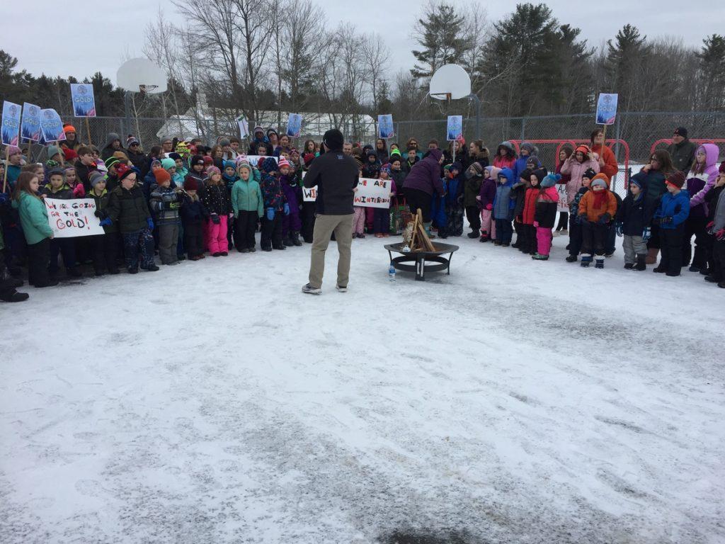 Whitefield Elementary School Winter Games 2020 Week 1